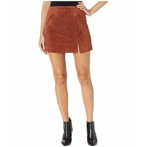 Blanknyc | Tabacco Brown Mini Skirt